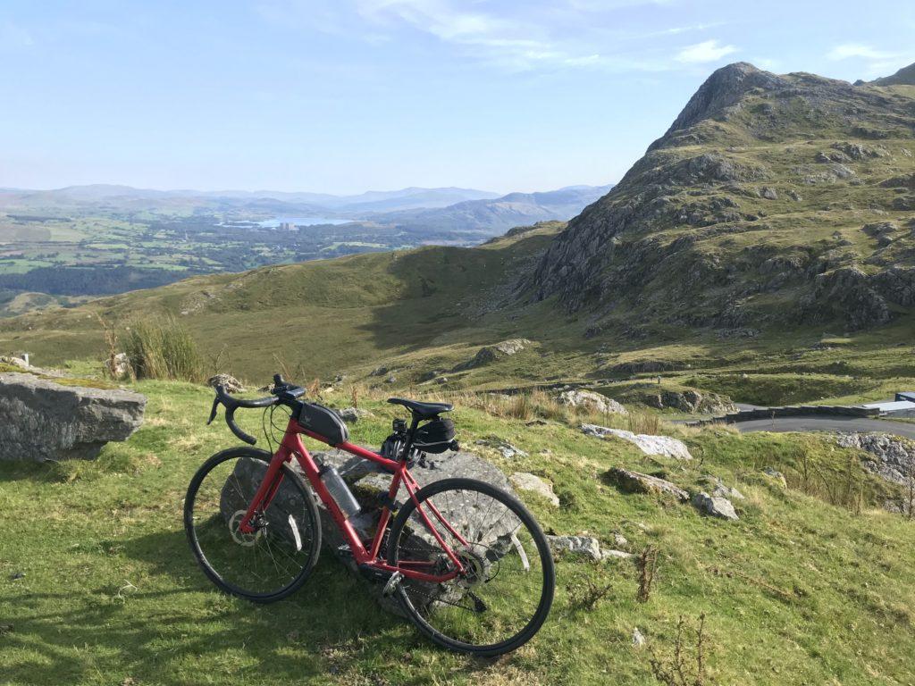 Adventure Road Bike in Wales