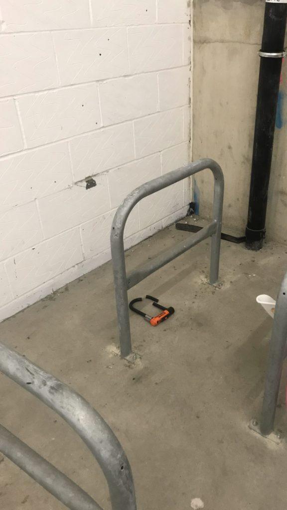 Fahrraddiebstahl Crime Szene