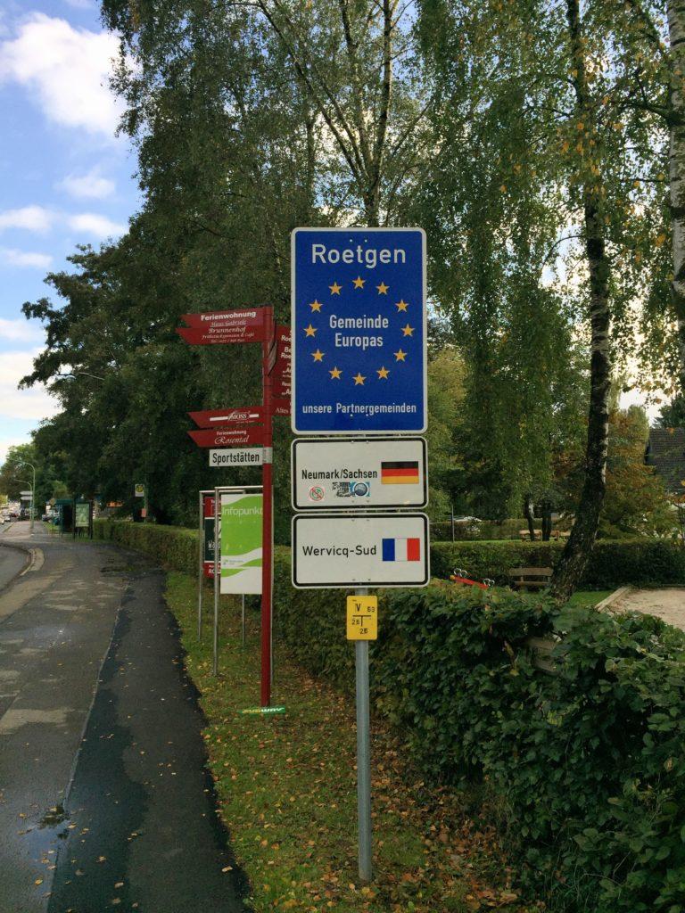 Staatsgrenze Röttgen Radweg