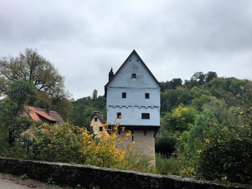 Topplerschlösschen Rothenburg vom Radweg