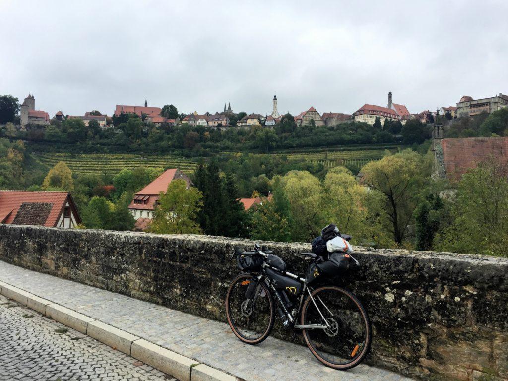 Rothenburg Blick von Steinbrücke
