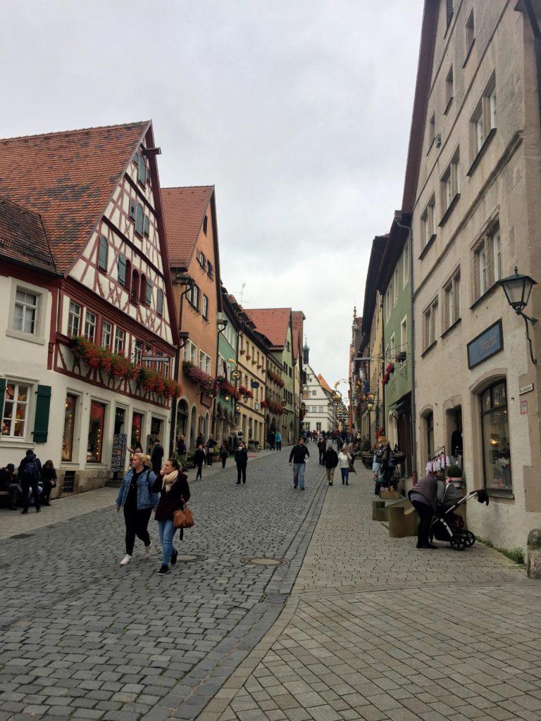 Rothenburger Altstadt Gassen