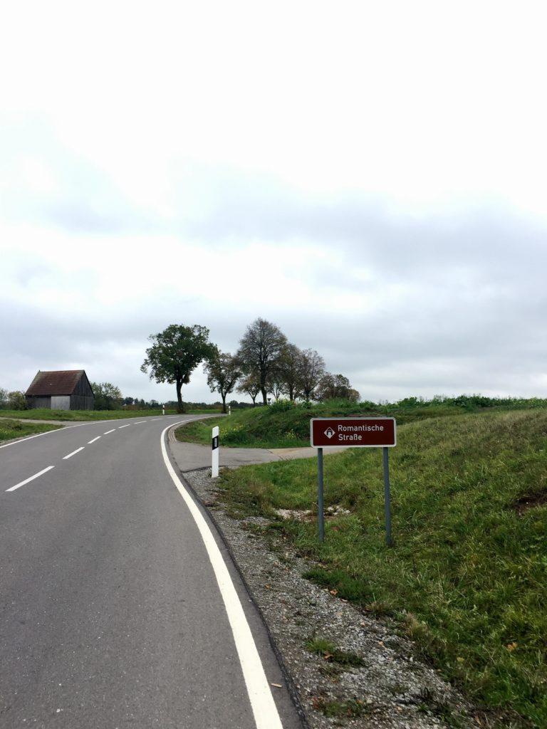 Radweg Romantische Straße