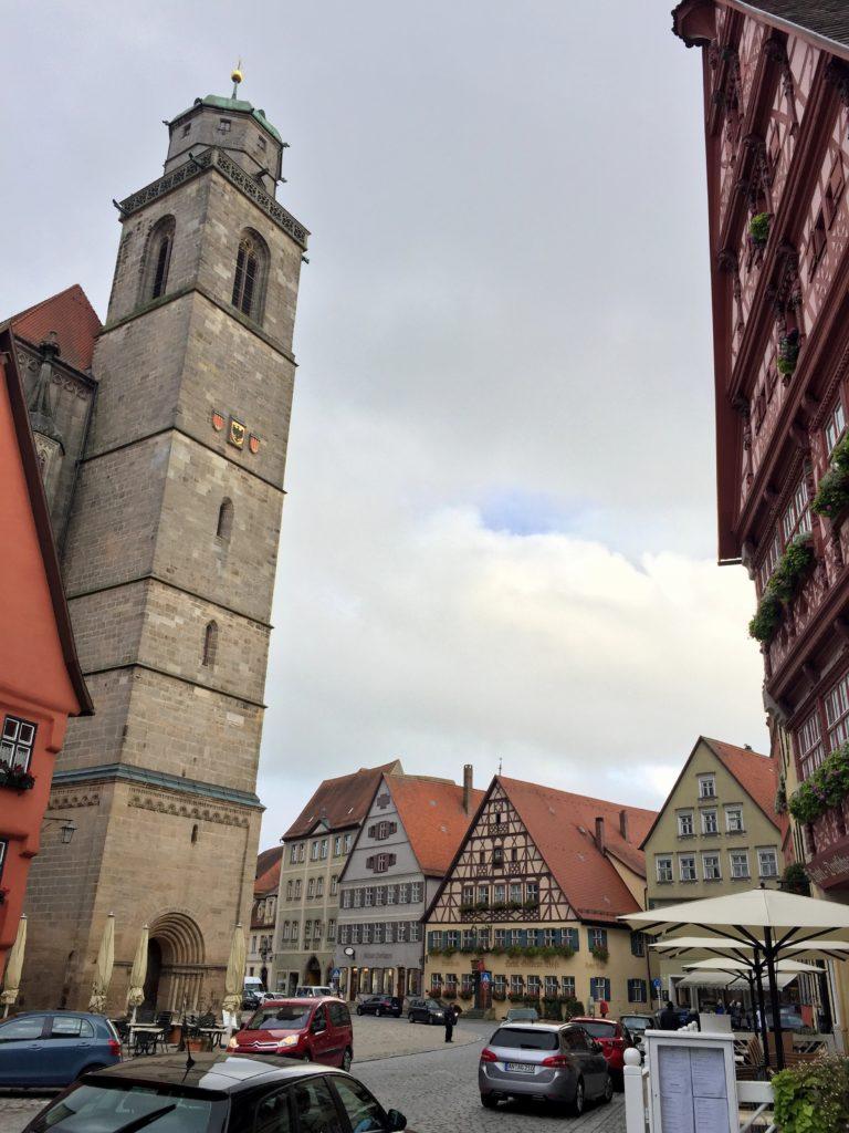 Dinkelsbühl Radweg in Altstadt