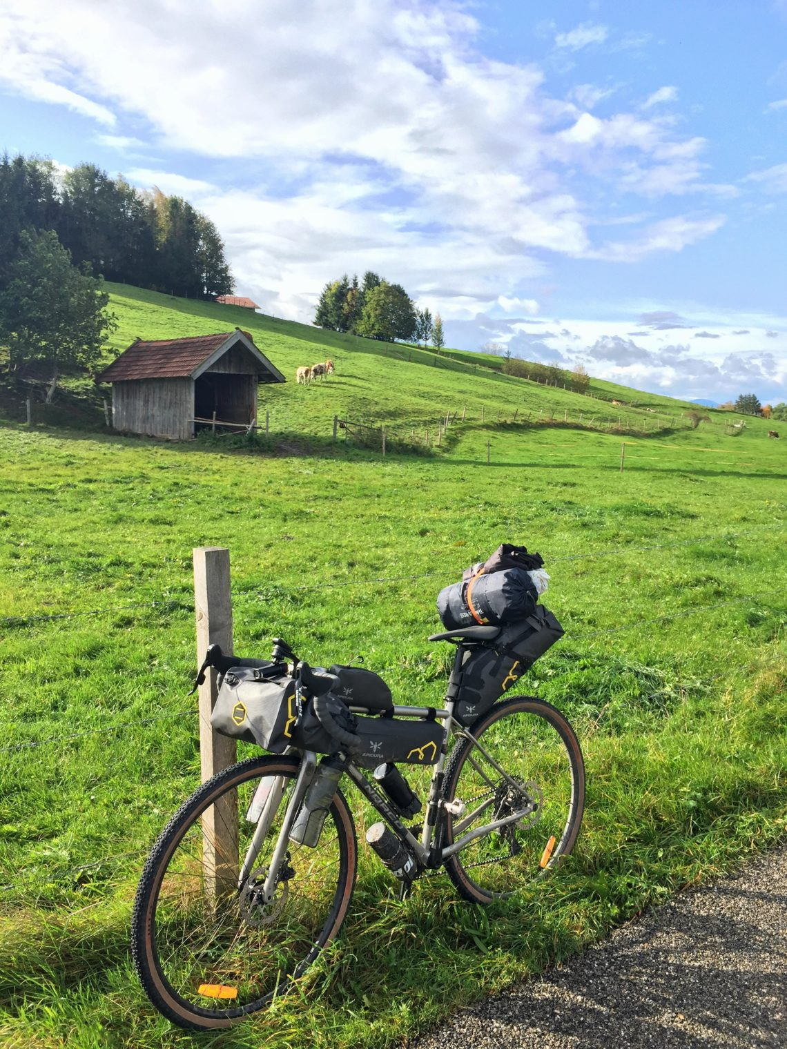 Bikepacking mit Gravel Bike in Bayern