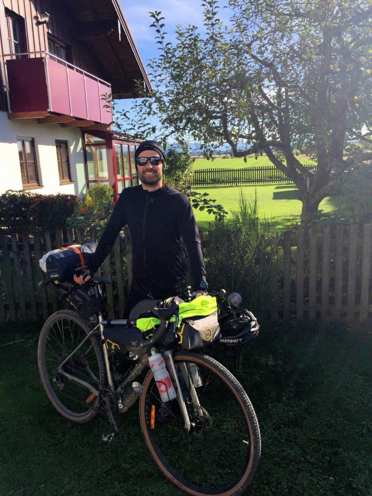 Der Heimkehrer mit Gravel Bike Setup