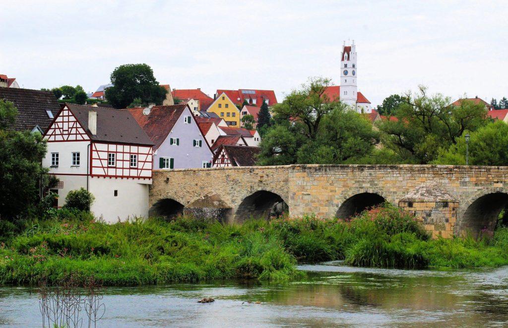 Harburg vom Wörnitz Radweg