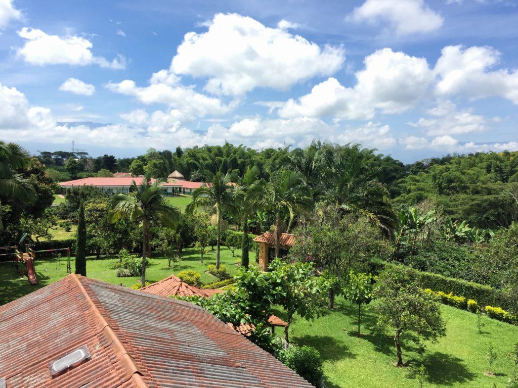 Kolumbianische Finca in der Zona Cafetera