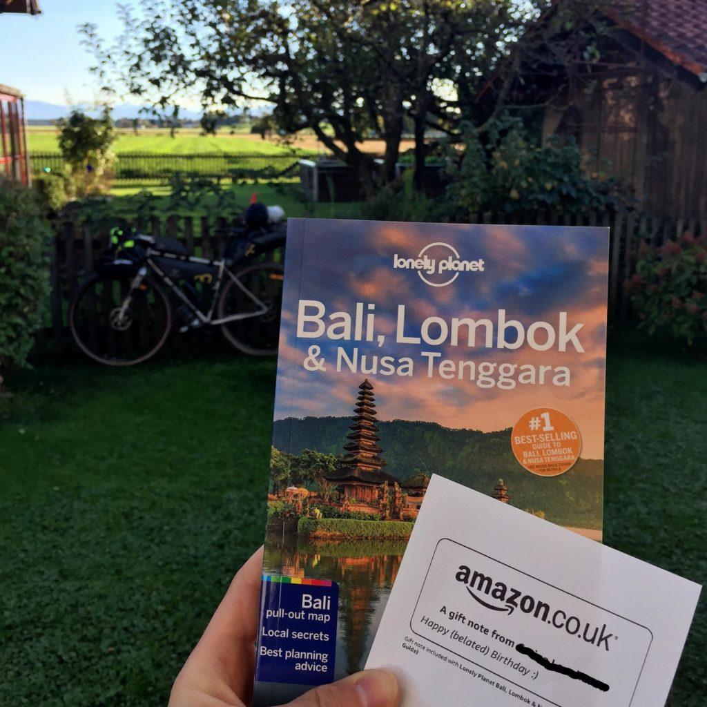 Reiseführer Bali als Geschenk