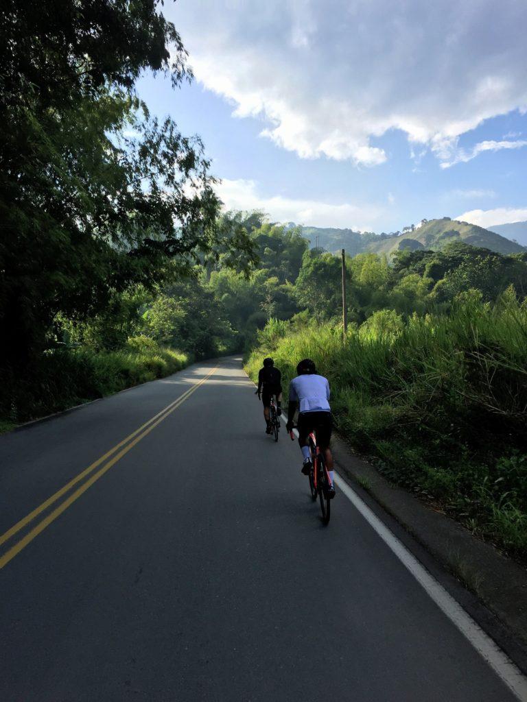 Rennradfahren in Kolumbiens Zona Cafetera