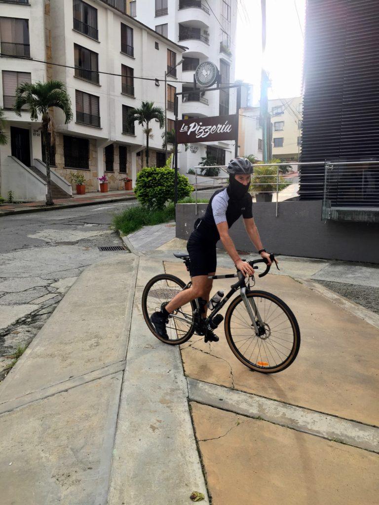 Gravel Cycling in Kolumbien während Quarantäne