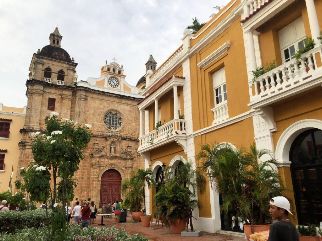 Cartagena Kolumbien mit Altstadt